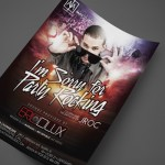 DJ Eric Dlux, Las Vegas, at AJA Channelside Print Design by Ryan Orion Agency