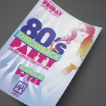 80's Throwback at AJA Wiregrass Print Design by Ryan Orion Agency
