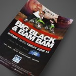 Big Black and Bam Bam from Rob Dyrdek's Fantasy Factory at AJA Channelside Print Design by Ryan Orion Agency