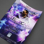 Electric AJA Carnival at AJA Channelside Print Design by Ryan Orion Agency