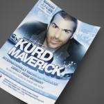 Kurd Maverick at Hawaiian Village Print Design by Ryan Orion Agency