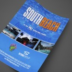 South Beach Sundays at Hawaiian Village Print Design by Ryan Orion Agency
