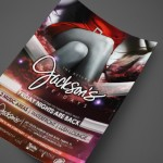 Jackson's Friday Nights Print Design by Ryan Orion Agency