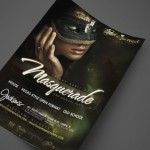 Masquerade at Jackson's Print Design by Ryan Orion Agency