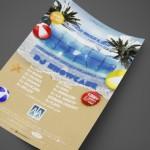 Spring Splash at AJA Channelside Print Design by Ryan Orion Agency