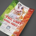 The Unit from Jersey Shore and Amia Miley at AJA Channelside Print Design by Ryan Orion Agency