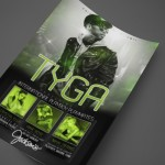 Rapper/Performer Tyga at Jackson's Print Design by Ryan Orion Agency