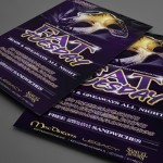 Fat Tuesday at MacDinton's Print Design by Ryan Orion Agency