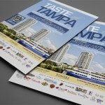 Taste of Tampa at the Towers of Channelside Print Design by Ryan Orion Agency