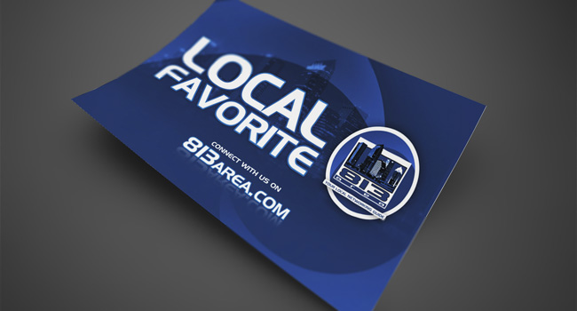 813area.com Local Favorite Sticker by Ryan Orion Agency