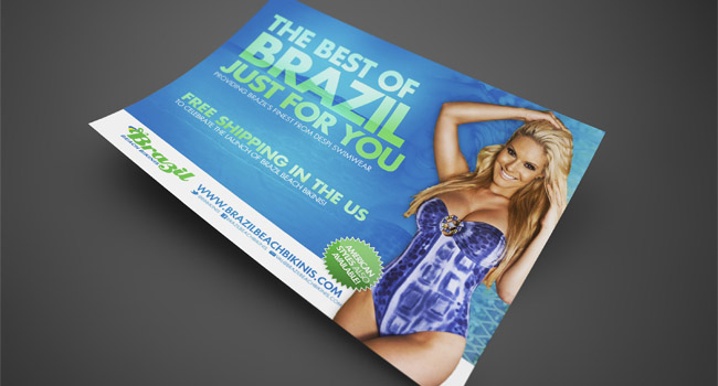 Brazil Beach Bikinis Print Advertisement by Ryan Orion Agency